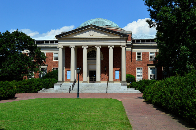 Morehead Planetarium on the campus of UNC Chapel Hill (Flickr: William Yeung)